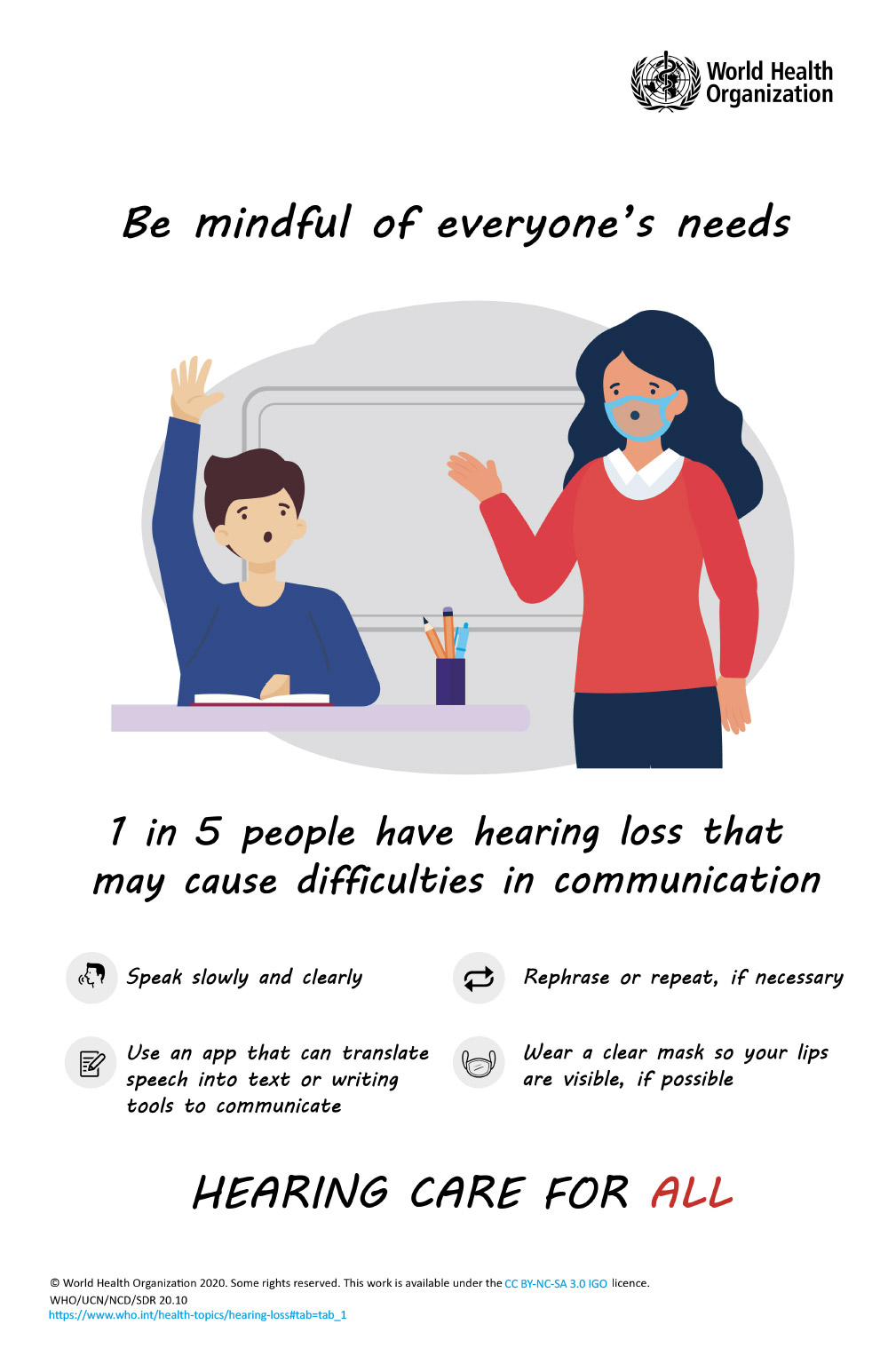 World Hearing Day | 3 March | Hearing Care for All | CVH Audiology